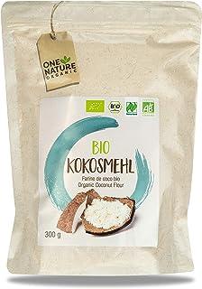 ONE NATURE organic – 100% BIO Kokosmehl 7 x 300g – aus ökologischer Landwirtschaft – Alternative zu Weizenmehl glutenfrei - Zum Backen von Kuchen, Brot etc.