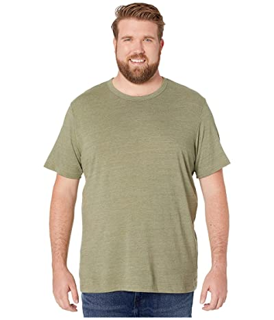 Alternative Big Tall Eco Crew T-Shirt (Eco True Army Green) Men