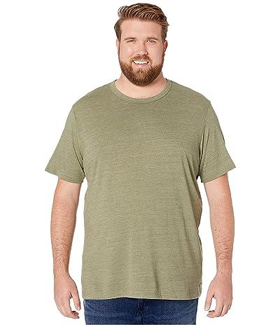 Alternative Big Tall Eco Crew T-Shirt (Eco True Army Green) Men