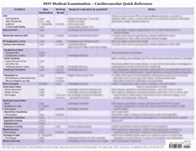 The DOT Medical Exam - Cardiovascular Quick Reference