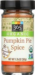 365 Everyday Value, Organic Pumpkin Pie Spice, 1.76 oz