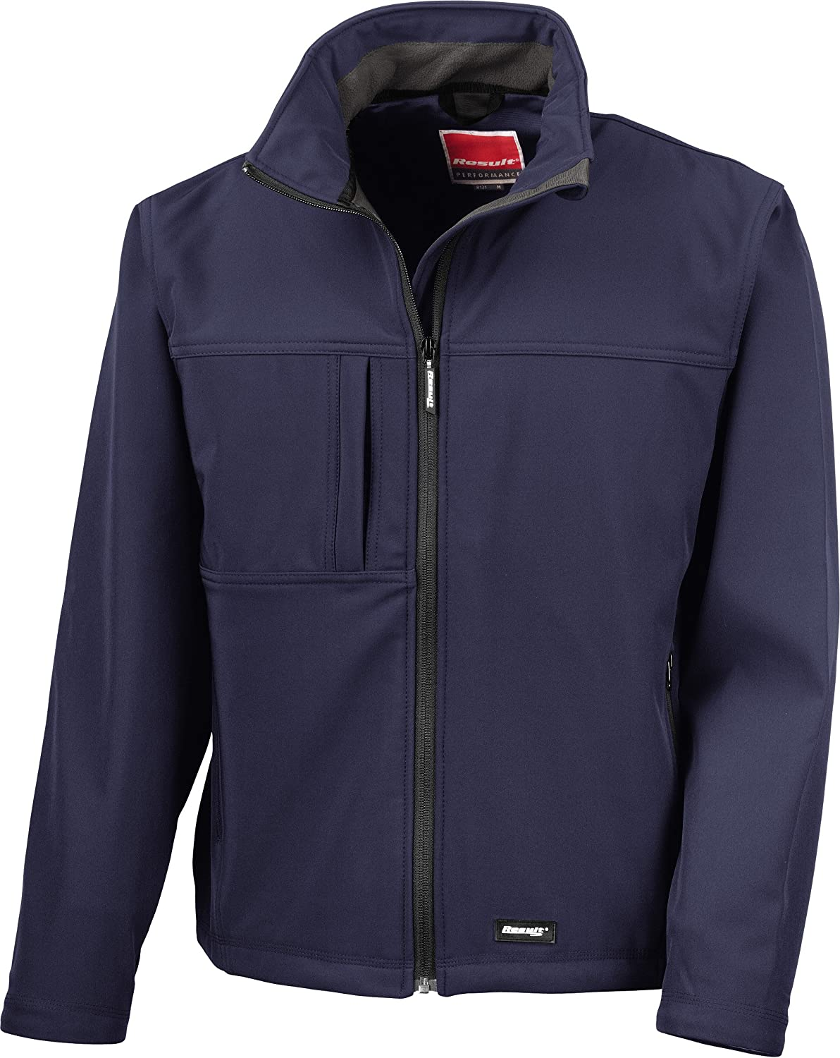 (4X-Large, Navy) - Result R121a Classic Soft Shell Jacket