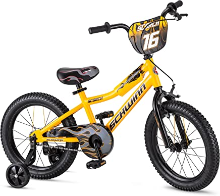By Schwinn Boy 's Scorch Bicicleta, 40.6cm, Amarillo