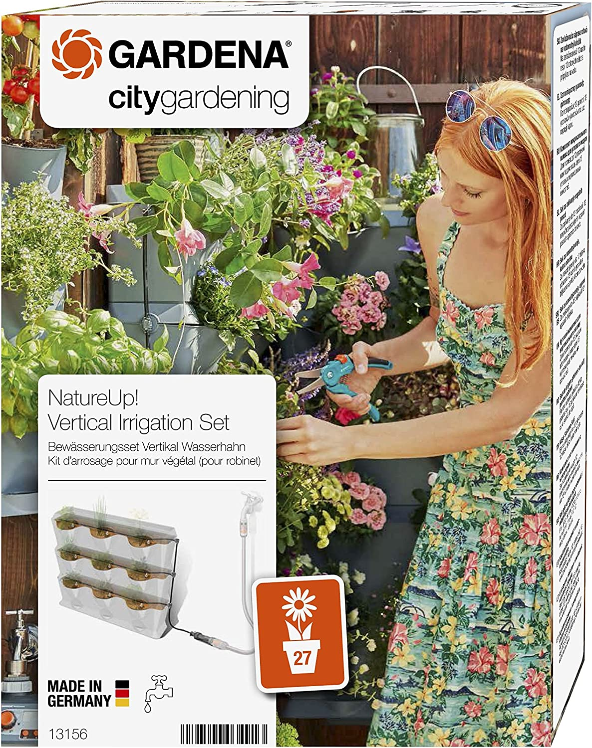 Gardena Natureup Vertical Watering Fixed price for sale System Ranking TOP5 Set Tap: