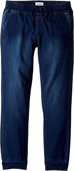 Hudson Kids Indigo French Terry Jogger in Cameo Blue (Big Kids)