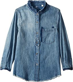 AG Adriano Goldschmied Kids - Madison Chambray Shirt (Big Kids)