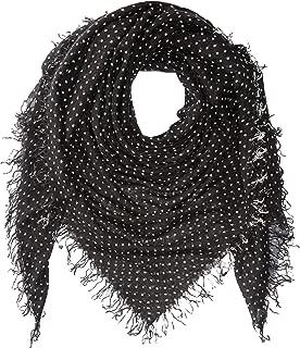 Chan Luu Womens Cashmere & Silk Polka Dot Scarf