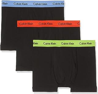 Calvin Klein Men's Pack of 3 Cotton Stretch Trunk