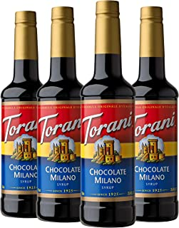 Torani Syrup, Chocolate Milano, 25.4 Ounces (Pack of 4)