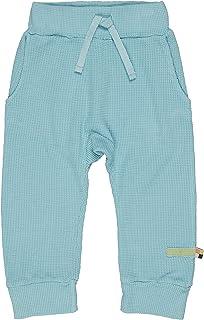 Loud + Proud Hose in Feiner Waffelstruktur, Gots Zertifiziert Pantalon Mixte Enfant