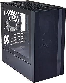 Cooler Master MasterBox NR400 Compatible ATX MB, Rejilla Frontal y Panel Lateral de Cristal Templado