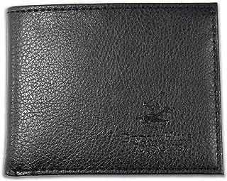 Beverly Hills Polo Club Lichi Grain Bi-Fold Wallet Color Black