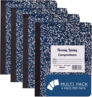 Roaring Spring Hard Cover Composition Book, 9 3/4
