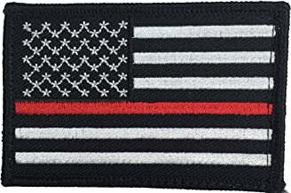 Patch Squad Men's Tactical USA Flag Police/Firefighter Embroidered Patch …