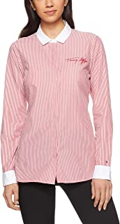 Tommy Hilfiger Women's Signature Logo Cotton Shirt