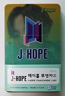 BTS Acrylic Transparent Photocards Set (2020.02) (J-Hope)