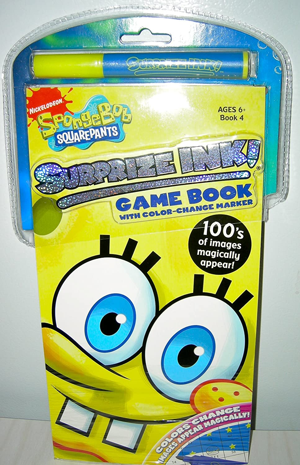 Spoongebob Squarepants Surprize Ink Book 4 by Giddy Up by Giddy Up