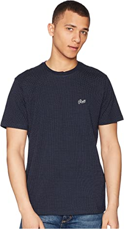 RVCA Points Short Sleeve Knit T-Shirt