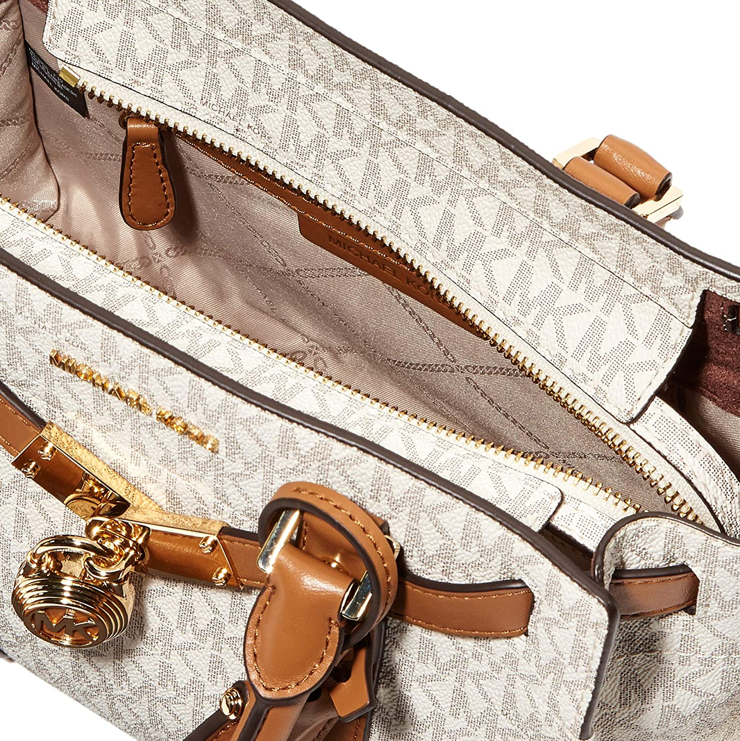 Michael Kors Hamilton Legacy, Cartable Multicolore (Vanilla/Acrylique).
