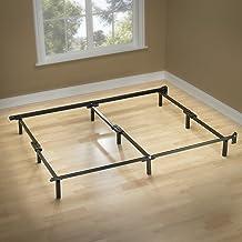 إطار سرير داعم من Zinus Michelle Compack 9 أرجل، لمجموعة الربيع المربع والمرتبة ، كامل