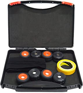 Deep Biomagnetic Spot Therapy Large Neodymium Biomagnets 8 Pairs (16PCS) of 35x5 millimeters 3500 Gauss with Carrying Case Headband and PDF Introduction Guide to Biomagnetism Health Magnets