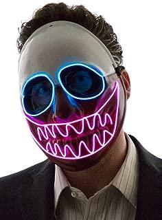 Men's Light Up Creepy Puppet Mask