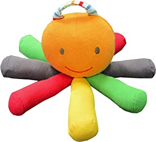 Under the Nile Stripes and Brights Scraptopus Toy in Multi Color