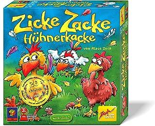 Zicke Zacke Hühnerkacke: Für 2 - 4 Spieler ab 4 Jahren. Spieldauer: 15 -20 Minuten