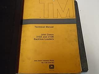 John Deere 310A 310B Backhoe Loader Service Manual OEM FACTORY With Binder ***