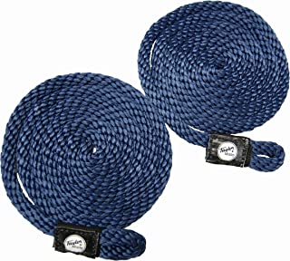Taylor Made Products, Fender Loc, Braided Line with Loop, 6 Foot Length, 3/8 inch Diameter, 2 Pack