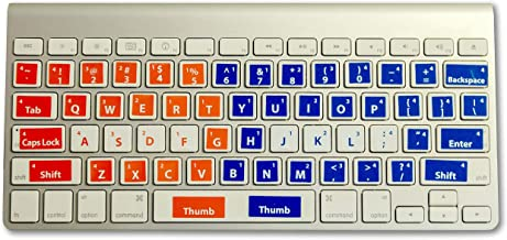 Learn to Type Keyboard Stickers Keyboard Genius Touch Typing for Kids and Adults Typing Instructor Improves Typing Speed and Accuracy Easily Applied to All Keyboards