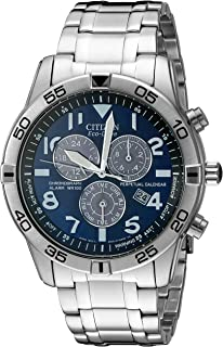 Citizen Mens BL5470-57L Stainless Steel Eco-Drive Watch