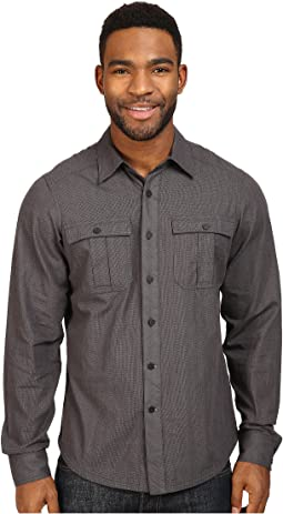 Striate Long Sleeve Shirt