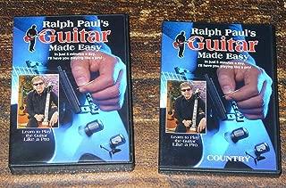 Ralph Pauls Guitar Made Easy 10 DISC SET