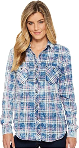Rock and Roll Cowgirl - Long Sleeve Button B4B5751