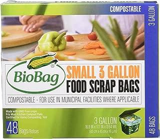 Bio Bag Compostable Small 3 Gallon Bags 48 Count by BioBag