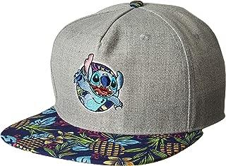 Lilo and Stitch Tropical Adjustable Baseball Cap Hat Grey