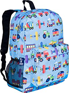 Wildkin Kids 16 Inch Backpack for Boys and Girls, Perfect Size for Kindergarten, Elementary, and Middle School, Patterns Coordinate with Our Lunch Boxes and Duffel Bags