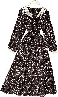 Cataleya Casual Flower Girl Dress For Women - black