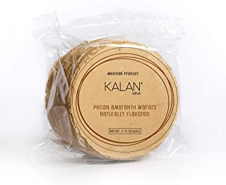 Kalan Obleas Mexican Snack - Amaranth Flour Wafers (All Flavor, 11 Pack)