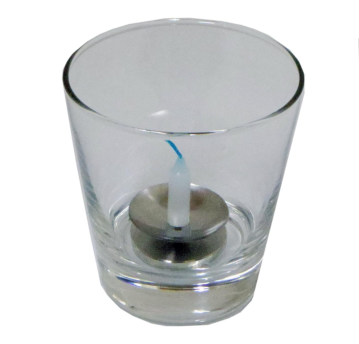 報復ピボット妥協キャンドルスタンド 東海製蝋のろうそく 究極の安全燭台【やすらぎ】