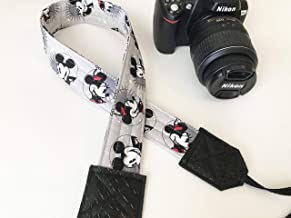 Mickey and Minnie Mouse Camera Strap for dslr cameras (gray)