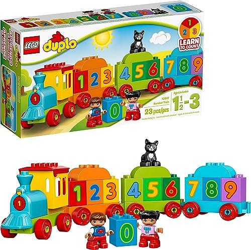 LEGO Juego de Construcción Tren de Los Números