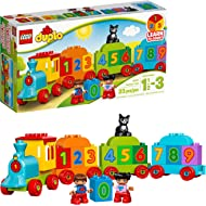 LEGO DUPLO My First Number Train 10847 Learning and Counting Train Set Building Kit and...