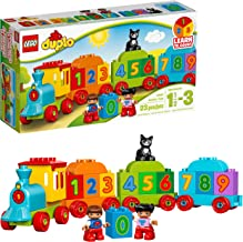 LEGO DUPLO My First Number Train 10847 Learning and Counting Train Set Building Kit and Educational Toy for 1 1/2-3 Year O...