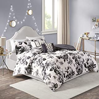 Best black and white floral bedding Reviews