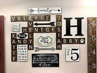 Scrabble Tiles Wall Art 5in x 5in