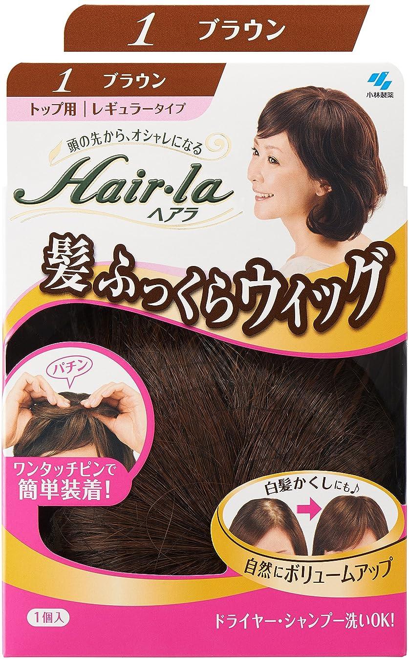 真鍮成熟した感覚小林製薬 ヘアラ髪ふっくらウィッグ ブラウン