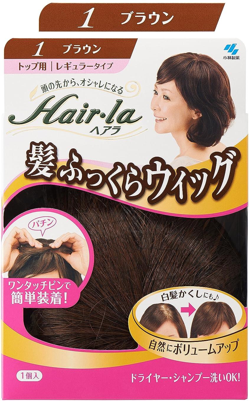 冷ややかなフレキシブル勇気のある小林製薬 ヘアラ髪ふっくらウィッグ ブラウン