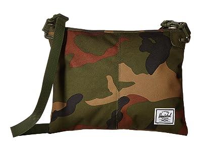 Herschel Supply Co. Alder (Woodland Camo) Cross Body Handbags
